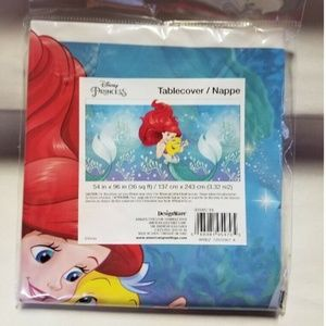 Disney Princess Ariel Birthday Party Tablecover